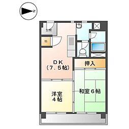 上飯田第2 2号棟[11階]の間取り