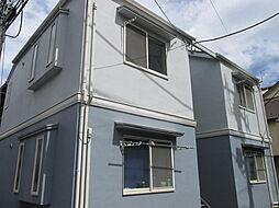 東京都大田区東雪谷4丁目の賃貸アパートの外観