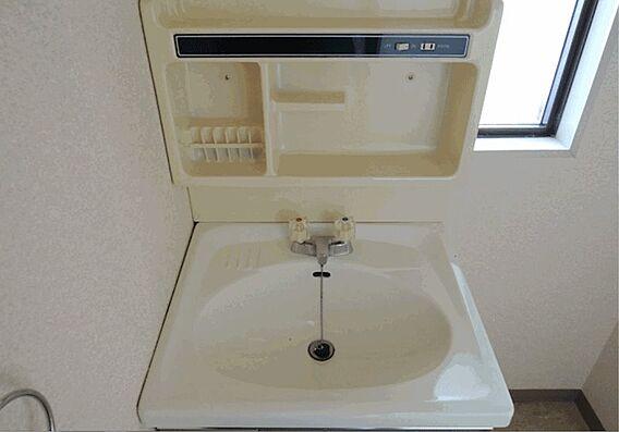 洗面所はコンセ...
