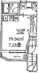 (仮称)成増新築アパート[1階]の間取り