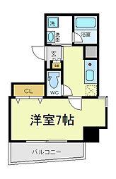EXCELKUMATA[6階]の間取り