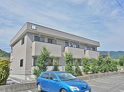 山梨県甲府市和田町の賃貸アパートの外観