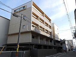 京都府京都市上京区実相院町の賃貸マンションの外観