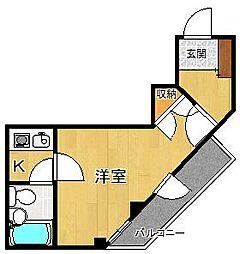 Collection塚口[2階]の間取り