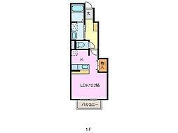 セント・イリス I[1階]の間取り