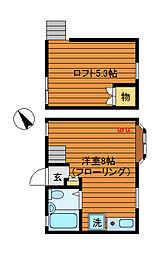吉祥寺パークハイム[2階]の間取り