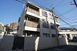 千葉県流山市前ケ崎の賃貸マンションの外観