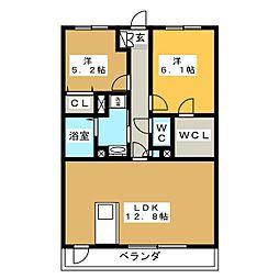 Casa Forte[1階]の間取り