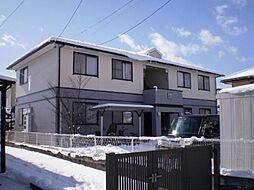 長野県長野市上松4丁目の賃貸アパートの外観
