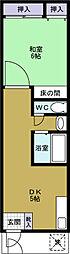パールハウス2[2階]の間取り