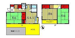 [一戸建] 千葉県松戸市八ヶ崎7丁目 の賃貸【/】の間取り