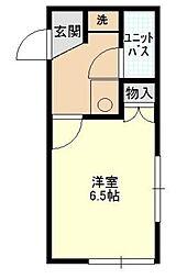 クンストハウス[1階]の間取り
