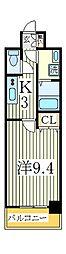 GRAND RISE[7階]の間取り