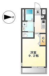ボワロ[2階]の間取り