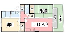 アパートメントハオラ[102号室]の間取り