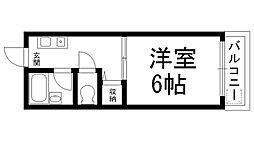 ロータリーM出口[0603号室]の間取り