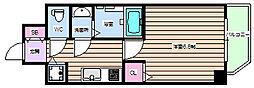 レジデンス福島II[2階]の間取り