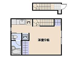 アロベスタ串戸[2階]の間取り