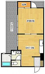 水城ビル[2階]の間取り