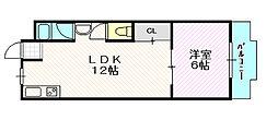 和ハイツ3[3階]の間取り