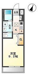 木更津市真舟5丁目新築アパート[106号室]の間取り