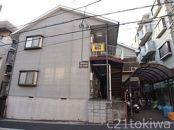 埼玉県志木市本町5丁目の賃貸アパートの外観