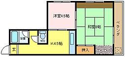 聖和苑[2階]の間取り