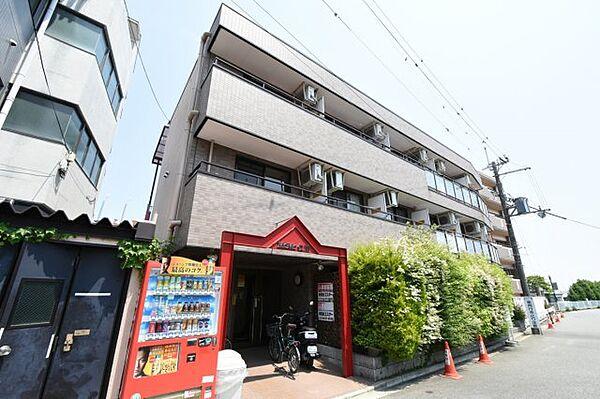 MOMO仁川[1階]の外観