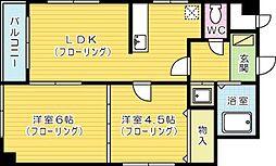 YSビル[4階]の間取り