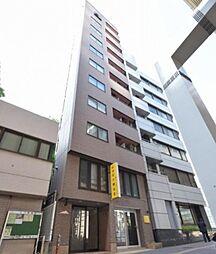 東京都目黒区大橋2丁目の賃貸マンションの外観