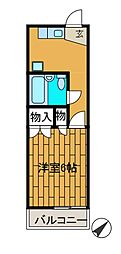 島田ハイツ[2階]の間取り