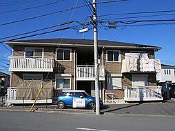 埼玉県川越市神明町の賃貸アパートの外観