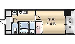 SWISS天王寺1[504号室]の間取り