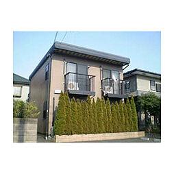 東京都日野市豊田2丁目の賃貸アパートの外観