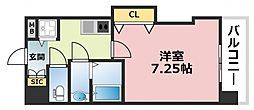 Luxe深江橋[1202号室号室]の間取り