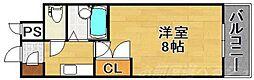 リファレンス南小倉[7階]の間取り
