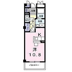 プレッソ・ベル[2階]の間取り