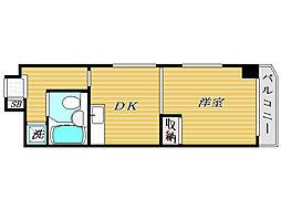 フジヨシ西台[2階]の間取り