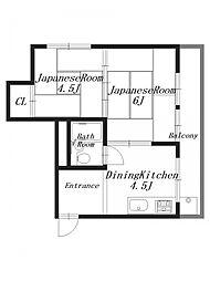 M'sマンション[3階]の間取り