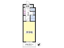 ROXY TAKAHATA 2411[110号室]の間取り