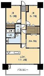 (新築)アルファスマート神宮北[7号室]の間取り