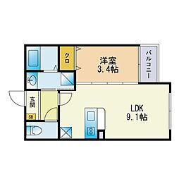 下山門駅 5.9万円