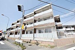 埼玉県川越市富士見町の賃貸マンションの外観