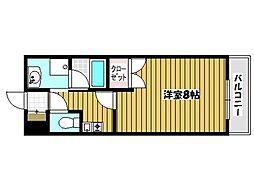 コーボレーション草津[3階]の間取り