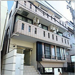 東京都目黒区東山3丁目の賃貸マンションの外観