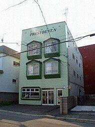 北海道札幌市手稲区手稲本町一条1丁目の賃貸アパートの外観