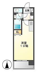KDXレジデンス熱田神宮[8階]の間取り