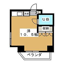キャッスル北沢[2階]の間取り
