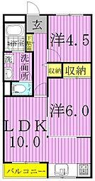 ヤマユウ第8ビル[203号室]の間取り