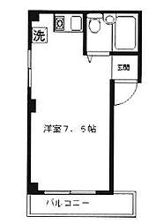 畑マンション[3階]の間取り